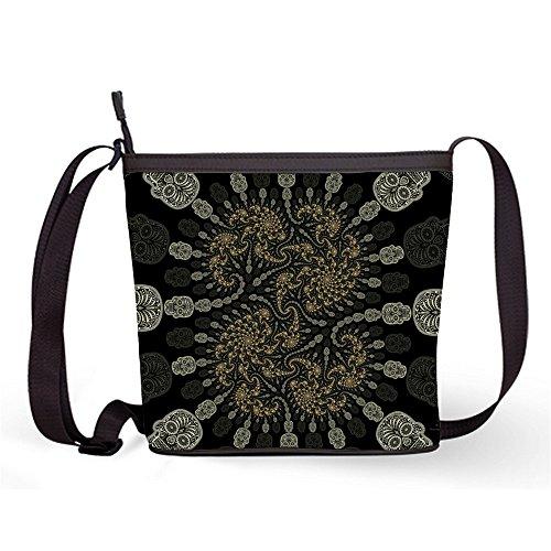 Casual Crossbody Bag Popular and Skull Sugar Fashion Sling Sugar Female Print Bag with Shoulder Bag Bag39 Sling dxEYwpqX