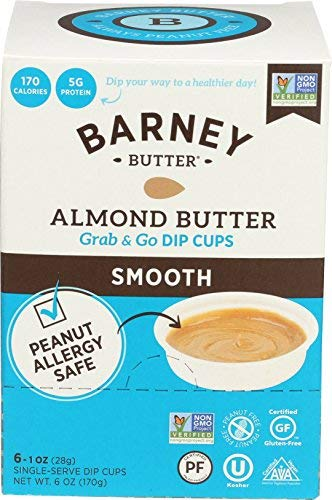 Barney Butter Almond Butter Dip Cups Smooth 6 Count (Pack of 6) [並行輸入品]   B07N4LH6ZX