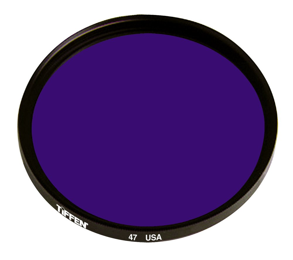 Tiffen 40547 40.5mm 47 Filter (Blue) by Tiffen