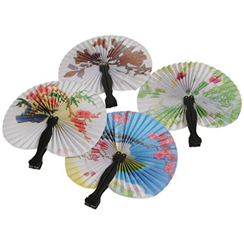 (Lot Of 12 Traditional Japanese Assorted Style Mini Asian Inspired Design Paper Folding)