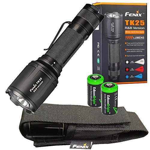 Fenix TK25 White/Red/Blue 1000 Lumen LED tactical hunting Flashlight