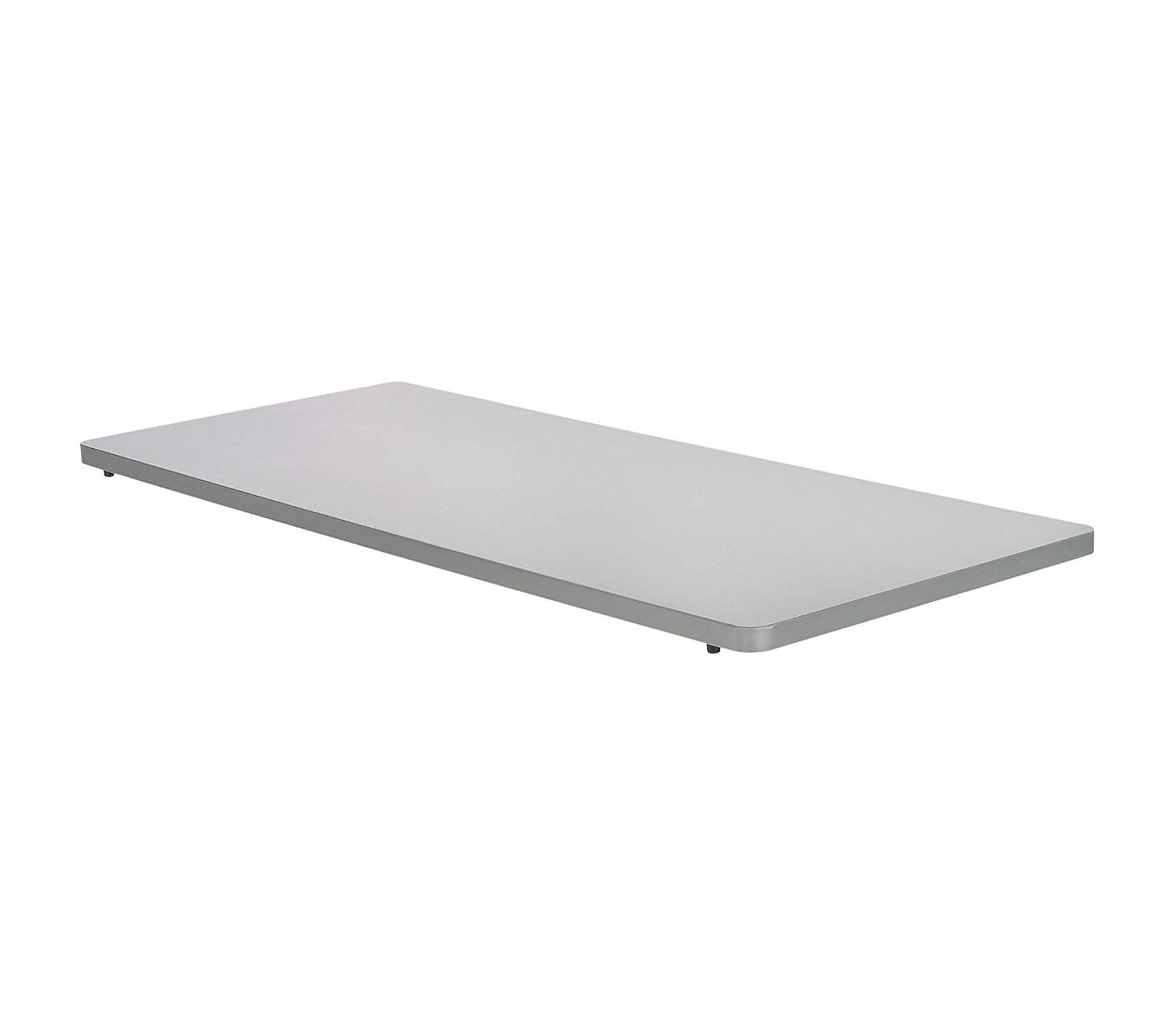 Sаfcо Impromptu Mobile Training Table Rectangle Top 48 by 24-Inch, Grey
