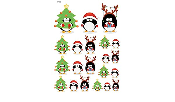 49079 Images Enamel Ceramic Decal to Choose from Enamel Decal Christmas Penquin Choose Either Ceramic 3 Different Size Sheet Glass Decal or Glass Fusing Decals Waterslide Decal
