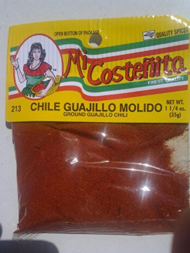 (Ground Guajillo Chili Guajillo Chili Molido 1.25 Oz 1 Pack)