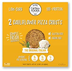 The Cali'flour Difference: We like to cut carbs, not corners. That's why we use only high-quality, fresh ingredients and never any unnecessary additives or fillers. It's clean. It's simple. It's Cali'flour Foods. Our cauliflower pizza crusts ...
