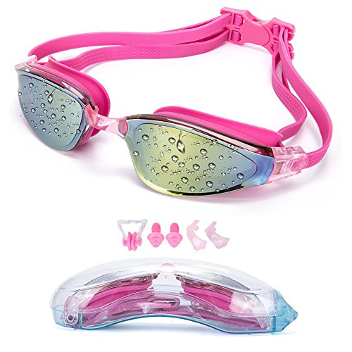 YJWB Swimming Goggles,Anti-fog,No LeakingUV Protection,Triathlon Swimming Goggles Men Women Children Swim - Swimming Goggles Transparent