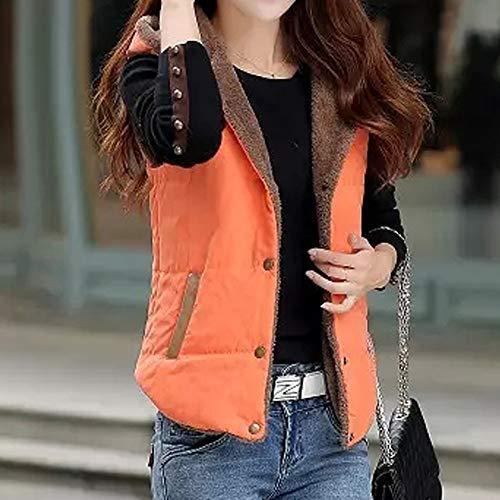 d'hiver capuche chaud de coton hiver Outwear vestes mode épais Parka Femmes élégantes manteau rembourré Orange manteau manteau manteaux occasionnels qC1nxt
