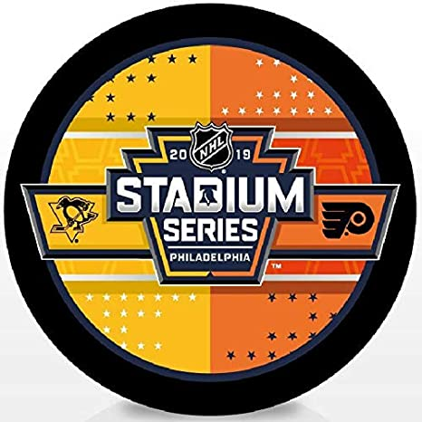 Image Unavailable. Image not available for. Color  Elusive Dream Marketing  Services 2019 Stadium Series Dueling Puck Hockey Official Penguins Flyers 94d3188f5