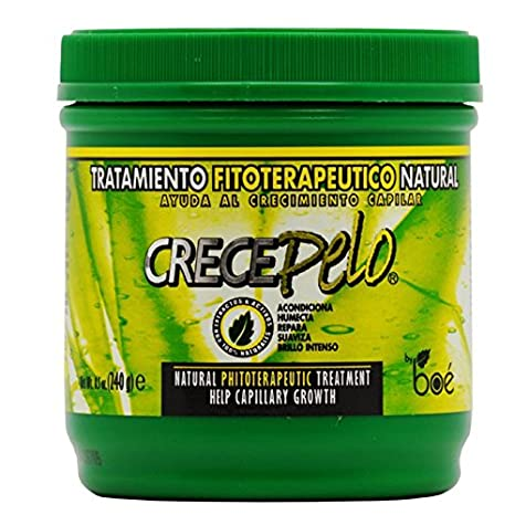 Boe crece pelo natural phitoterapeutic Treatment for capillar Growth 8oz by BOE