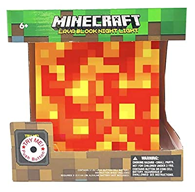 ThinkGeek Minecraft Lava Lamp Mood Light