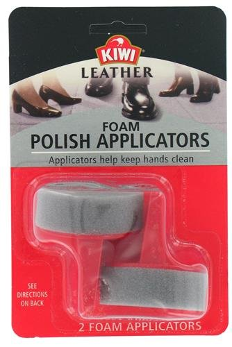 Kiwi 70306 Leather Foam Polish Applicators 2 Count