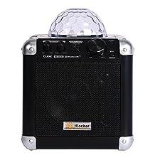 iDance Sing Cube Boombox Speaker (Black)