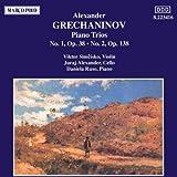 Grechaninov:Piano Trios 1&2