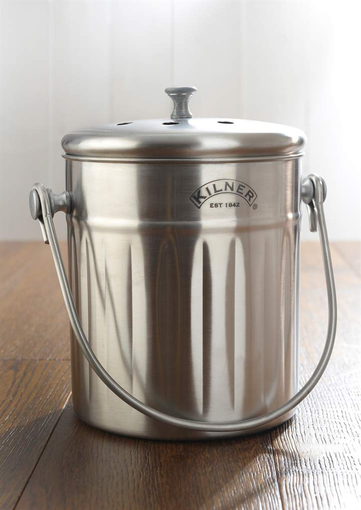 14 x 14 x 5 cm Kilner Stainless Steel Easy Fill Jam Jar Funnel Silver