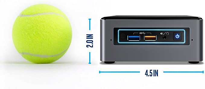 Intel NUC 7 Mainstream Kit (NUC7i7BNHX1) - Core i7, 16GB Optane Memory, Addt Components Needed