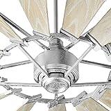 Quorum 197215-9 Windmill Ceiling Fan in Galvanized