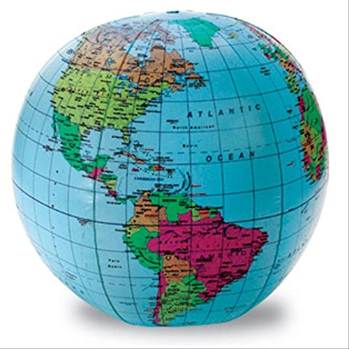 Continents And Oceans Map Amazoncom - World map continents and oceans