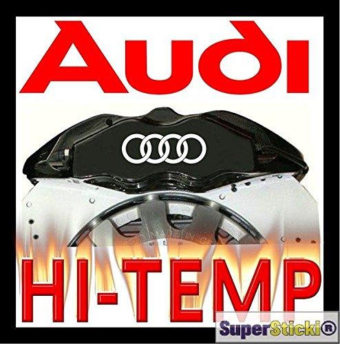 Audi Ringe Bremsen Aufkleber 4 Teilig Tuning Racing