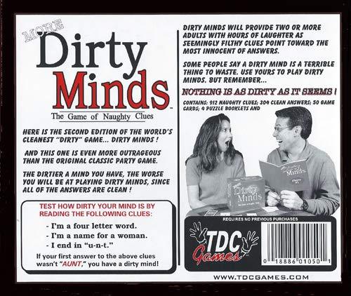 Zabawki Adult Game Dirty Minds Tylko dla dorosłych
