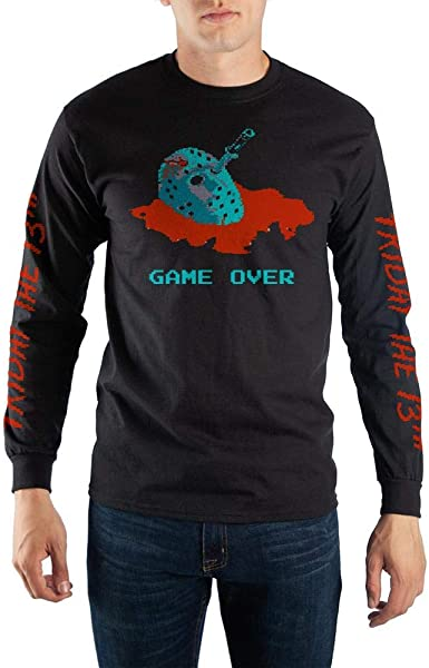 Officially Licensed Friday The 13th Long Sleeve T-Shirt S-XXL Sizes