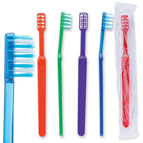 Oraline Compact Head Ortho V-trim Pre-TeenToothbrush - 144 per pack by SmileMakers