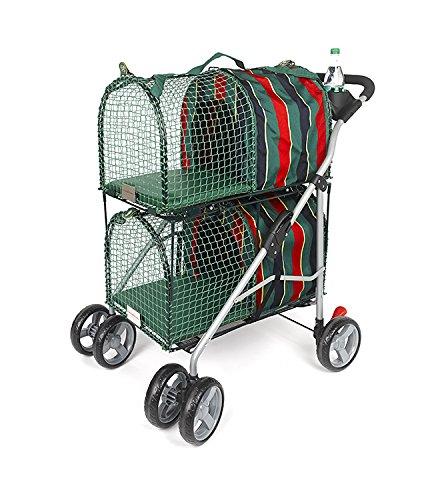 Kittywalk Double Decker Pet Stroller, Green by Kittywalk