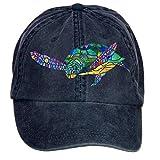Sungboys Unisex Sea Turtle Sports Baseball Hats Caps