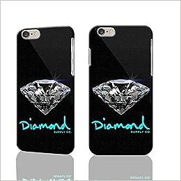 wholesale dealer f5196 fe84f Amazon.com: Shiny Diamond Supply CO Durable 3D Rough iphone Plus 6 ...