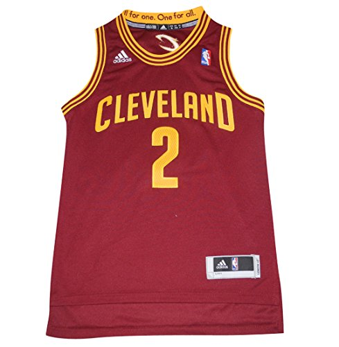 NBA Cleveland Cavaliers Irving #2 Boys Jersey Top with Embroidered Logo S