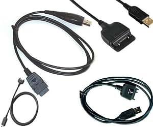 Handy-Mania USB-Cable de datos para Samsung D500/D600/E730/X460
