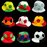 Liangmao World Cup 2018 European Cup Refuel Cheer Props commemorate fan carnival Football hat (Color : Spain)