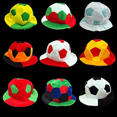 Liangmao World Cup 2018 European Cup Refuel Cheer Props commemorate fan carnival Football hat (Color : Spain) by Liangmao