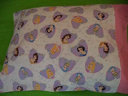 "Disney princess Pillowcase cover for standard 20""x 26"" pillow. girls. Kids. Daycare, Disney, Piloowcase"