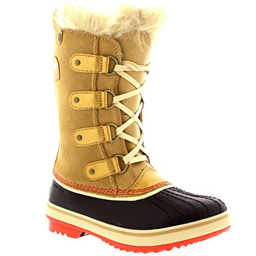 Sorel Girls' Tofino Waterproof Winter Boot Curry 6 M US by SOREL