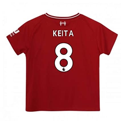 4ffb3411 Amazon.com : UKSoccershop 2018-2019 Liverpool Home Baby Kit (Naby ...