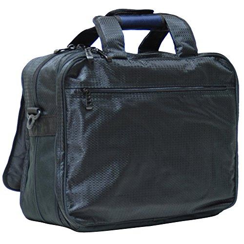 CALPAK Persuader Orange 17-inch Deluxe Laptop Soft Briefcase