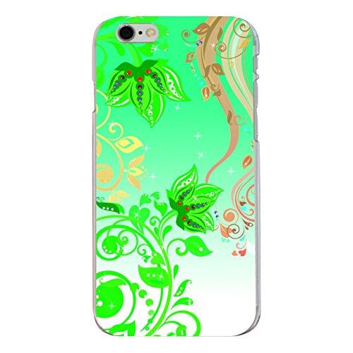 """Disagu Design Case Coque pour Apple iPhone 6s Plus Housse etui coque pochette """"Green flowers"""""""