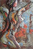 Empire Art Direct ''Nude Study 2'' Mixed Media Hand Painted Iron Wall Sculpture by Primo