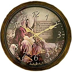 Benrus Wall Clock Jesus the Shepherd