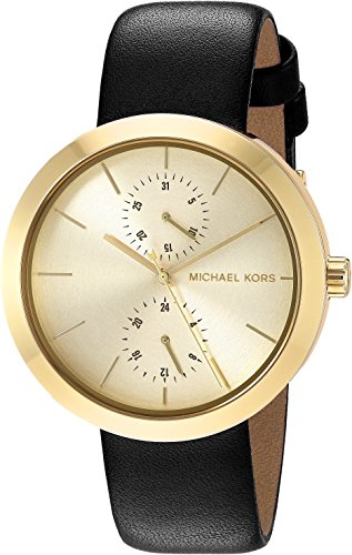 Michael Kors Women's Garner Black Watch MK2574