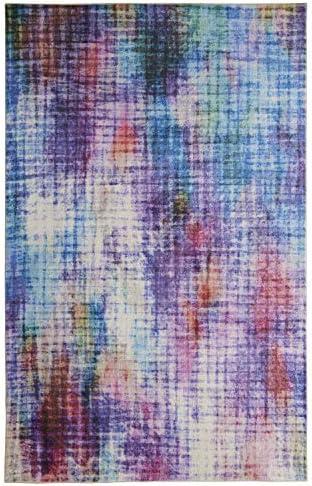Mohawk Home Prismatic Linear Pixel Multicolor Abstract Precision Printed Area Rug, 10 x14 , Multicolor