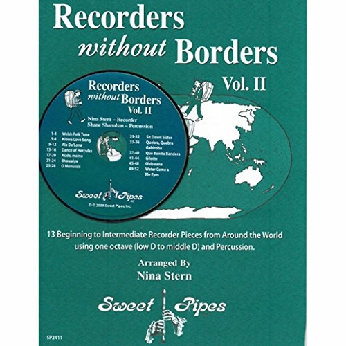 recorders-without-borders-volume-2-12-beginning-recorder-pieces-from-around-the-world-book-and-cd