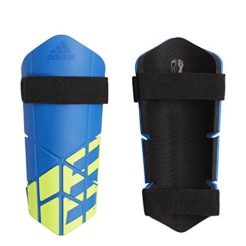 - adidas X Lite Shin Guards, Football Blue/Black/Solar Yellow, Small