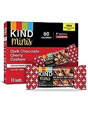 KINDS Bar KIND Dark Chocolate & Cherry Cashew Mini Bars, 229.6g