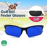 ZBSPM 2Pcs Golf Ball Finder Glasses, Men's and