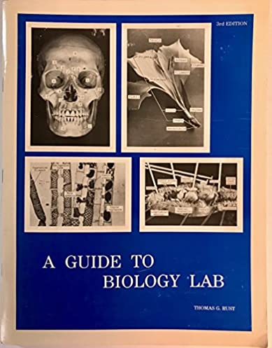amazon com guide to biology lab 9780937029015 thomas rust books rh amazon com High School Biology Labs Biology Lab Cartoon