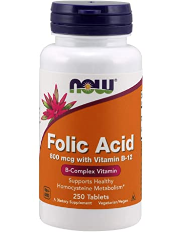 Folic acid 800 mcg - 250 comprimés - Now foods fe13647777d