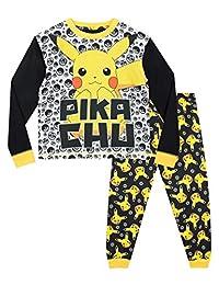 Pokemon Boys' Pikachu Pajamas