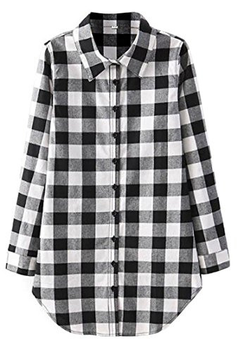 Black And White Flannel - 5