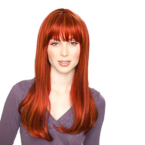 Sepia Costume Kelly Synthetic Wig - Lava